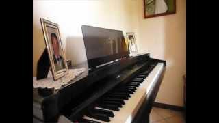 """Emis Killa """"Parole di ghiaccio"""" cover Pianoforte + Partitura - Stefano Chiappa"""