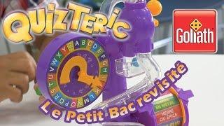 QuizTeric (Le Petit Bac revisit�) - D�mo du jeu de soci�t� en fran�ais