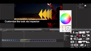mTransition Simple Pack plugin for Final Cut Pro X