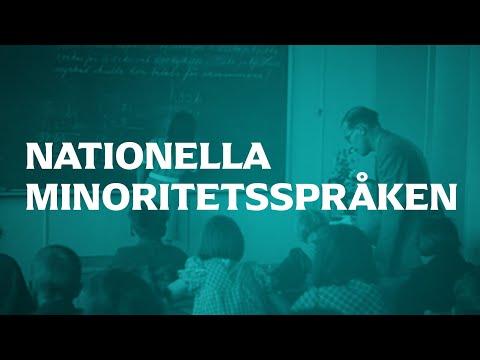 Nationella minoritetsspråken | SVENSKA | Gymnasienivå