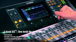 Yamaha TF Series Digital Mixing Consoles Video Feature Overview