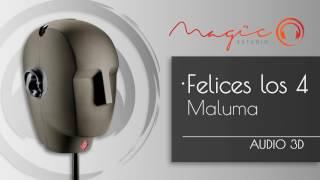 Sonido 3D - Cover Maluma - Felices Los 4