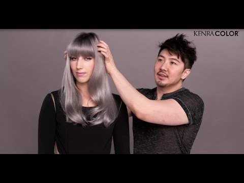 How to create Guy Tang's favourite grey | Kenra Professional #MetallicObsession