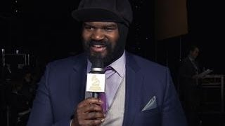 GRAMMY 56 - Gregory Porter - Backstage Thank You Cam