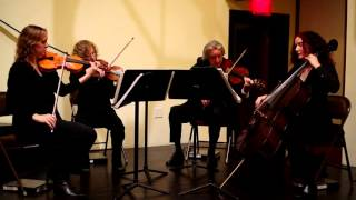 Barton Strings Quartet, live performance clip - Only Time, by Enya