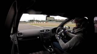 鈴鹿サーキット フルコース 走行 GOLF6 GTI