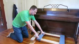 The best way to Lift and Move a piano: NO LIFTING! width=