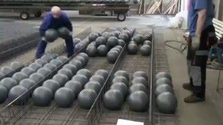 Tecnologia em lajes  Construção das lajes  BubbleDeck Brasil