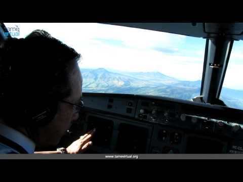 Flight Quito Cuenca Ecuador Airbus 320 Tame – HD
