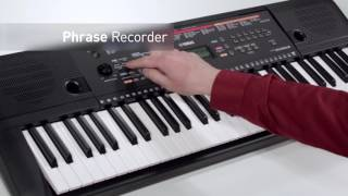 Yamaha PSR-E263 Digital Keyboard Overview