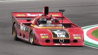 Alfa Romeo 33 SC 12 – Accelerations  Flat-12 Engine Glorious Roar!