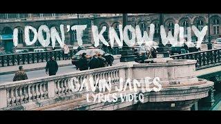 I Don't Know Why - Gavin James (Danny Avila Remix) Lyrics Video