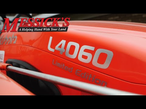 *New* L3560 & L4060 Limited Edition. Kubota's value leader? Picture