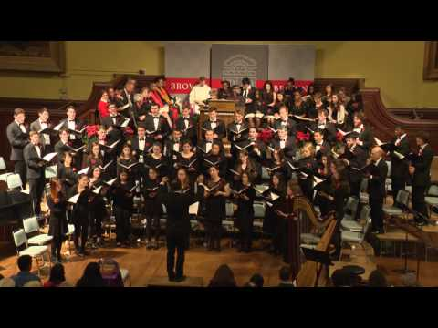"""World premiere of """"Joseph's Sunrise"""" from Brown's 100th Service of Lessons and Carols"""