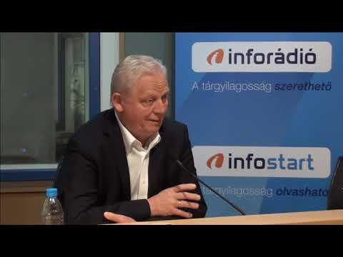 InfoRádió - Aréna - Tarlós István - 1. rész - 2019.08.23.