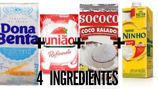 BOLO DE COCO 4 INGREDIENTES | Eps. 06