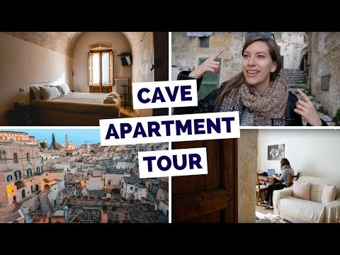 Cave Apartment Tour in Matera, Italy