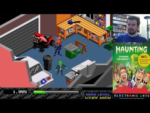 HAUNTING (Megadrive / Genesis) - Echando de casa a la chusma || Gameplay en Español