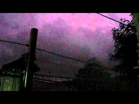 Lightning Storms in Nicaragua