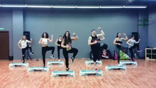 Mega Mix 58 - Tu Mi Medicina - Andy Quintero - Zumba ® Step Choreo by Nichol & Iuliu