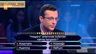 Kim Milyoner Olmak ister Emre Selvi 201. Bölüm 05.04.2013