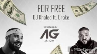 For Free ~ DJ Khaled ft. Drake ~ (INSTRUMENTAL ONLY)