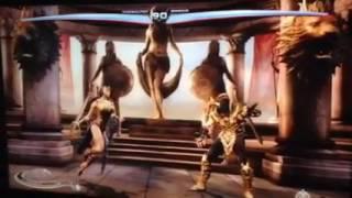 Mulher-Maravilha vs Scorpion (Live)
