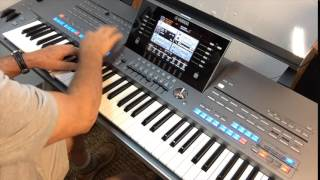 Conquest of Paradise (cover) played on a Tyros 5
