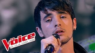 The Voice 2012 | Louis Delort - Trouble (Coldplay) | Prime 1