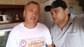 Eu Pr.Walfy Almoçando Na Casa Do Meu Grande Amigo Cantor Wagner Roberto 09/02/2017