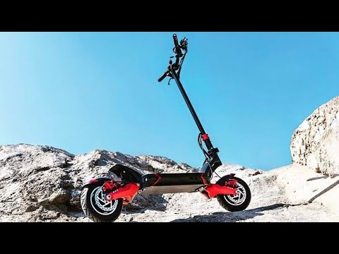 Electric Scooter with 11 inch off road tire 60v 40ah lithium battery 120km ranges 4000w motors 60kmh