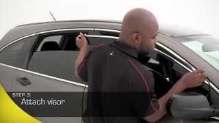 AVS Low Profile Ventvisor Window Deflectors Installation