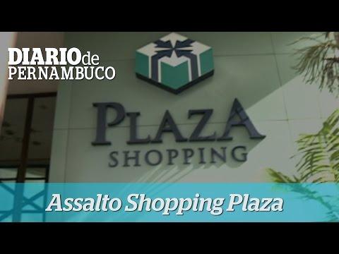 Assaltantes roubam arma de vigilante do Shopping Plaza