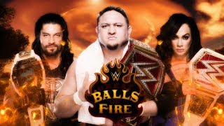 WWE GREAT BALLS OF FIRE 2017 - DREAM MATCH CARD
