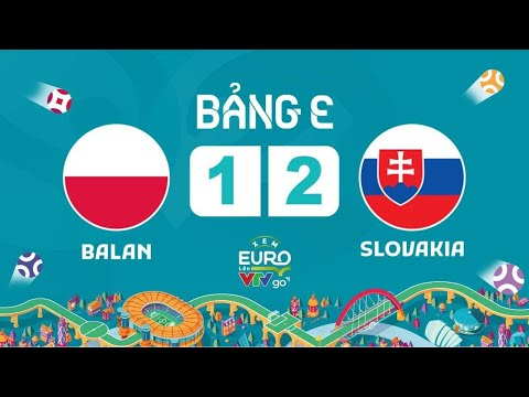 Phát lại: EURO 2020 | FULL TRẬN | BA LAN VS SLOVAKIA