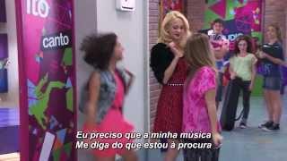 Violetta - Lena canta ¨Algo Suena en Mí¨ (Legendado em Português)
