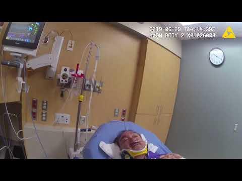 Sen. Richard Martinez in hospital during DWI arrest