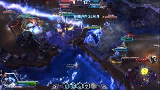 Heroes of the Storm Alpha - Falstad - Mega Kill