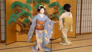 Traditional Geisha Dance.