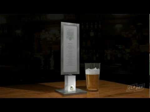 Clarex 3D visualisering  - Falcon skyltkoncept Bordsskyltar