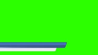 Barras Animadas #3 - Lower Thirds #3 / Green Screen - Chroma Key