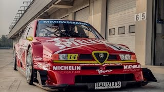 Alfa Romeo 155 DTM (ITC 1996) – Davide Cironi Drive Experience (SUBS)