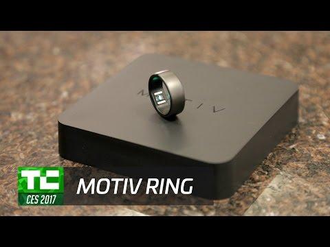 Motiv's fitness tracking ring