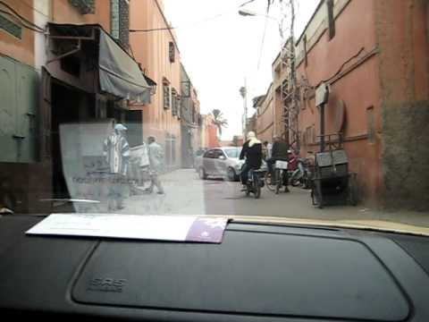 Driving in Marrakech 5