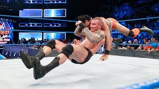 WWE: Randy Orton vs Mahal, a cámara lenta