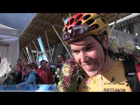 Birken Sykkelfestial 2018: Erik Nordsæter Resell - vinner menn elite