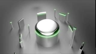 Amazing Animated Logo Intro Video -  Geometric Construction Intro Template