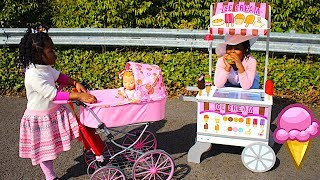 TOYS AndFun Sisters Pretend PLAY video For Kids