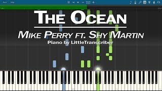 Mike Perry - The Ocean (Piano Cover) ft Shy Martin Synthesia Tutorial by LittleTranscriber