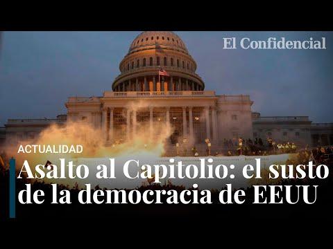 Asalto al Capitolio por seguidores de Trump: las horas más duras de la democracia americana